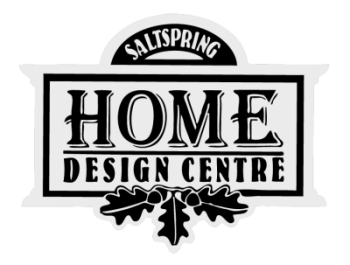 Salt Spring Home Design Centre on Salt Spring Island! Logo